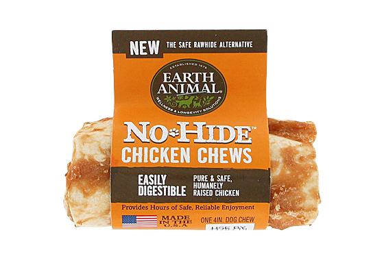 Earth Animal USA No Hide Chews - Chicken, 4 in.