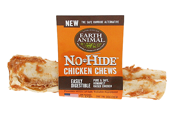 Earth Animal USA No Hide Chews - Chicken, 7 in.