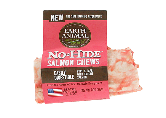 Earth Animal USA No Hide Chews - Salmon, 4 in.