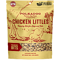 Polka Dog Chicken Littles Training Bits, 8 oz.