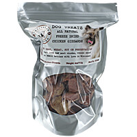 Unleashed Naturals - Chicken Gizzards, 4 oz.