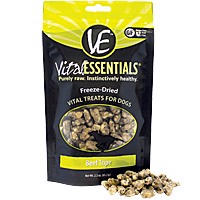 Vital Essentials Freeze-Dried Vital Treats - Beef Tripe, 2.3 oz.