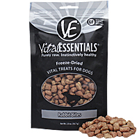 Vital Essentials Freeze-Dried Vital Treats - Rabbit Bites, 2 oz.