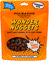 Polka Dog Wonder Nuggets - Peanut Butter, 12 oz.