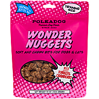 Polka Dog Wonder Nuggets - Turkey & Cranberry, 12 oz.