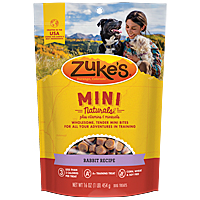 Zukes Mini Naturals - Rabbit, 1 lb.