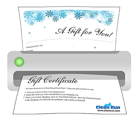 Gift Certificate - Print Your Own Gift Certificate, Holiday version