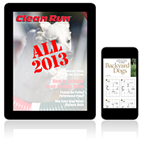 All 2013 Clean Run Digital Editions