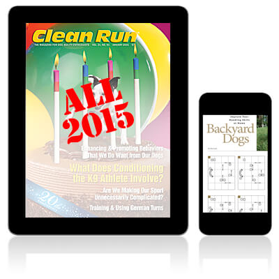 All 2015 Clean Run Digital Editions