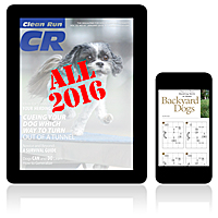 All 2016 Clean Run Digital Editions