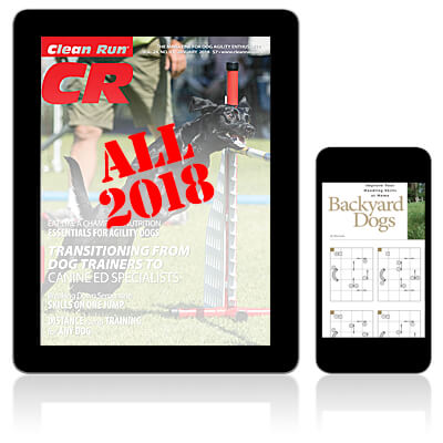 All 2018 Clean Run Digital Editions