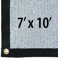 Cool Puppy 70% Aluminet UV-Coated Shade Cloth Panels - 7 ft. x 10 ft.