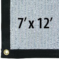 Cool Puppy 70% Aluminet UV-Coated Shade Cloth Panels - 7 ft. x 12 ft.