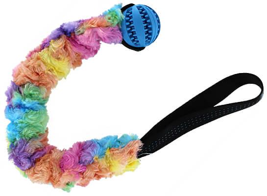 4 My Merles Bungee Slinky Ball Tug