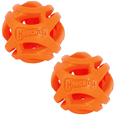 Chuckit Breathe Right Fetch Balls - Small, 2-Pack