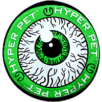 Hyper Pet Flippy Flopper Flying Disc - 9 in. Monster Eye