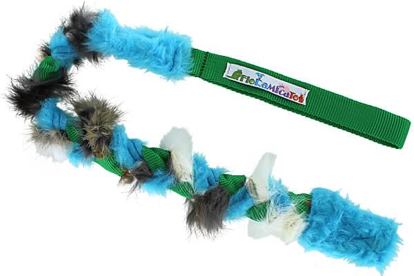 Floramicato Fluffy Braid Special Tug - Rabbit