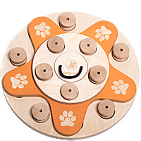 My Intelligent Pets Dogs Flower Treat Puzzle