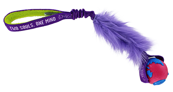 OneMind Dogs Bungee Tug with Fur - Small