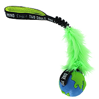 OneMind Dogs Bungee Tug with Fur - Large