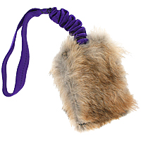 Predator-Prey Bungee Reward Pouch - Coyote & Rabbit