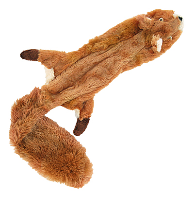Skinneeez Stuffing-free Dog Toy - Squirrel, 23in.