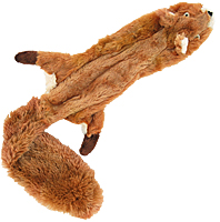 Skinneeez Stuffing-free Dog Toy - Squirrel, 23""