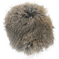 TugAway Real Rabbit Fur Squeaker Pocket Toy