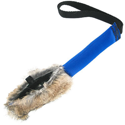 TugAway Tug Stick with Reward Pouch - Rabbit