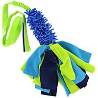 Zayma Long Handle Bungee Mop Tug with Fleece Strips