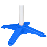 Clip and Go Pedestal Jump Bases-Set of 2, Blue