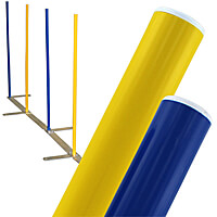 Solid Color Weave Poles