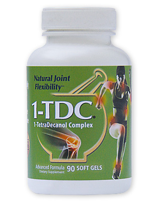 1-TDC Joint and Muscle Health Supplement for Humans - 90 Soft Gels