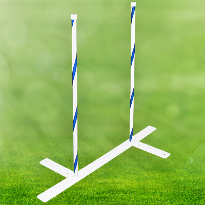2x2 Weave Poles, 22 in. Spacing - Set of 06