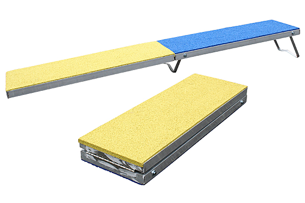 Clip and Go Agility Folding 6ft. Travel Plank & Contact Trainer