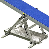 Clip and Go Agility Competition Seesaw - Version 2 with Sand Bag Tray