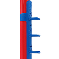 Clip and Go Agility Jump Cup Strips - Clip-On, Blue