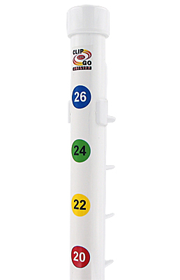 Clip and Go Agility Height Number Strips