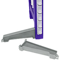 Clip and Go Agility Wing Jump Spare Feet - Set of 2