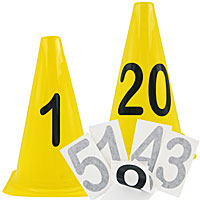 BUNDLE DEAL: 20-Obstacle Number Set - Cones