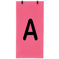 Obstacle Letter Set, A-B-C - Tent Style