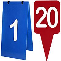 Obstacle Number & Letter Sets