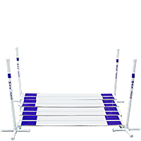 PVC Long Jump with Marker Poles