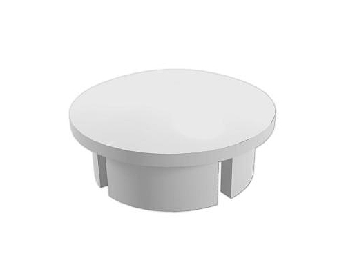 1 in. Internal PVC Dome Caps - White
