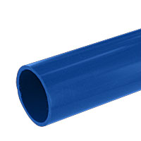 1 in. PVC Pipe, Furniture Grade - Blue