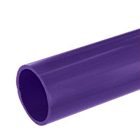 1 in. PVC Pipe, Furniture Grade - Purple