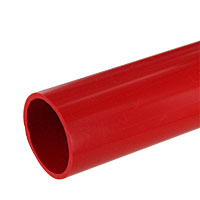 1 in. PVC Pipe, Furniture Grade - Red