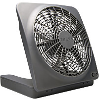 10 in. Battery or AC Powered Portable Fan