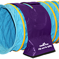 Clip and Go Tunnel Bags - Purple