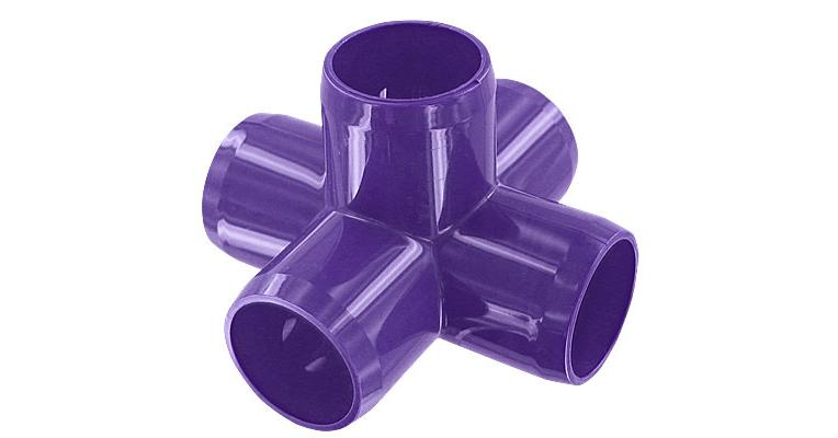 Product Details 1 In 5 Way Pvc Fitting Furniture Grade
